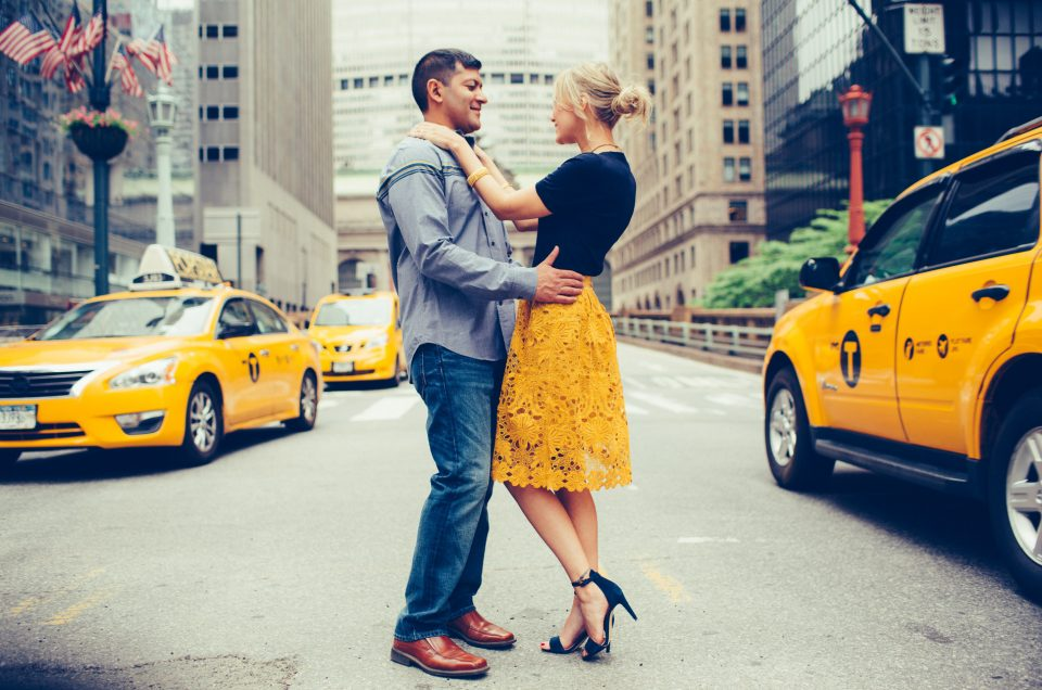 Jacklyn & Paul's NYC Engagement Session