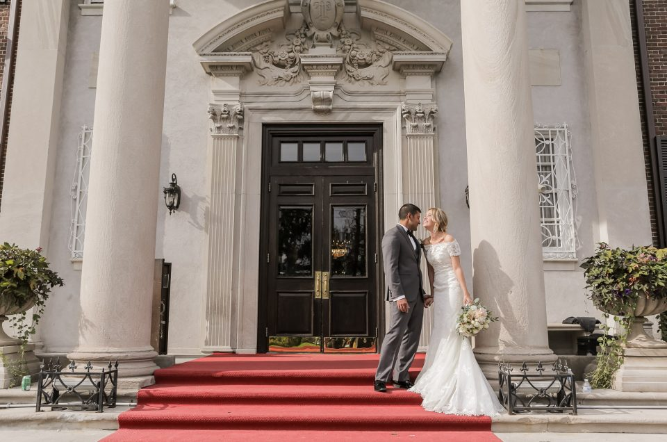 Jacklyn & Paul at Glen Cove Mansion