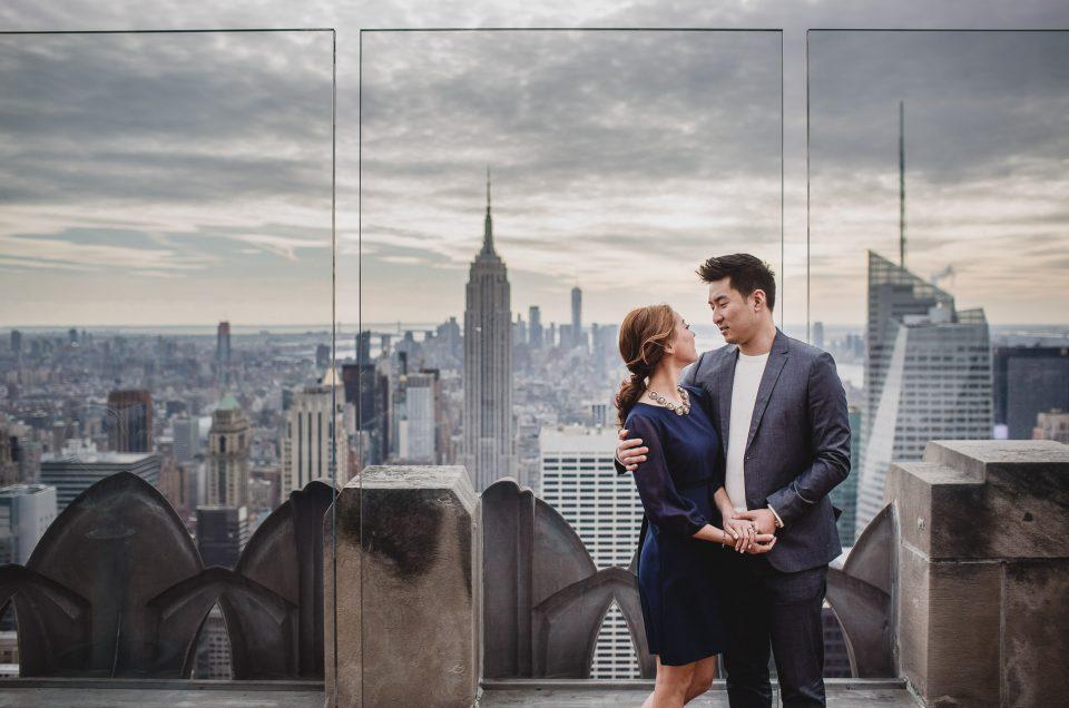 Honey & Chris in New York City