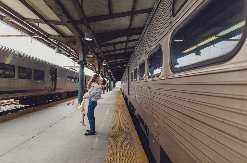 Elizabeth & Michael in Hoboken